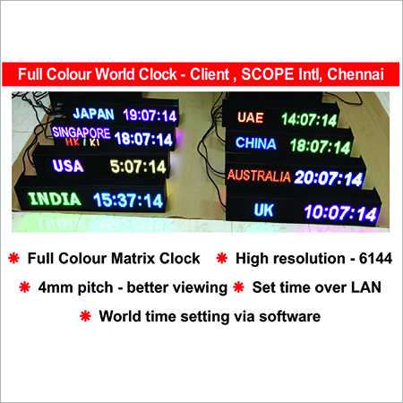 LED World Clock