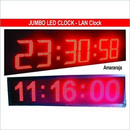 Jumbo LED Digital Clock