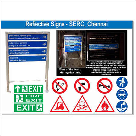 Reflective Sign Board