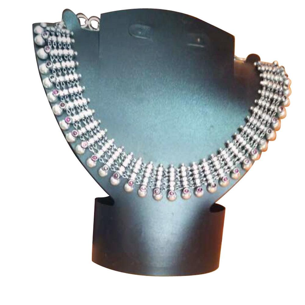 Silver Antique Necklace