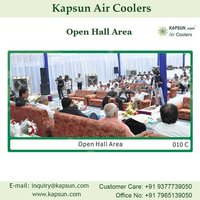 Air Cooler for Open Hall Area