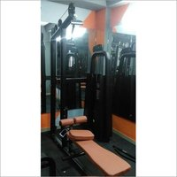 Lat Pull Down With Rowing Gym Machine