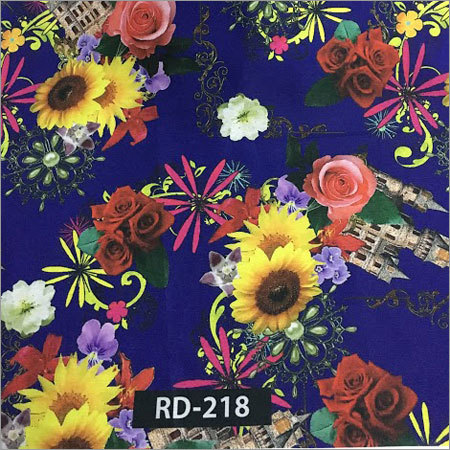 Digital Print Cotton Fabric