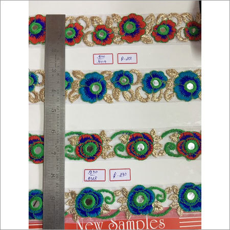 Beautiful Embroidery Patches Lace