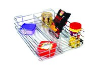 SS Wire Kitchen Partition Basket
