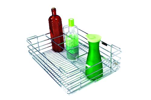 SS Wire Kitchen Bottle Partition Basket