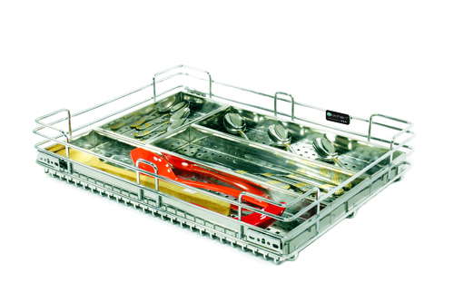 SS Wire Kitchen Box Cutlery Basket