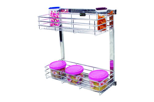 SS Kitchen Side Mounting Pullout