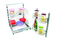 SS Kitchen Glovery Self Pullout.