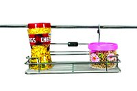 SS Kitchen Hanging Single Shelf