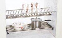 SS Kitchen Dish Rack