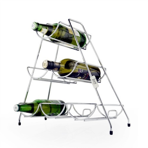 SS Kitchen 6 Bottle Rack