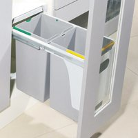 SS Kitchen Double Dust Bin