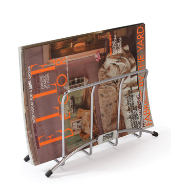 SS Kitchen Magzine Holder