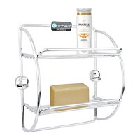 SS Kitchen Soap & Bottle Holder
