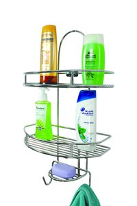 SS Bathroom Shelf