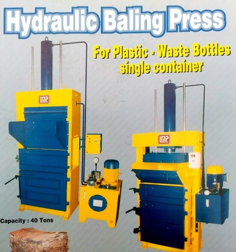 Hydraulic Plastic Bottle Baling Press
