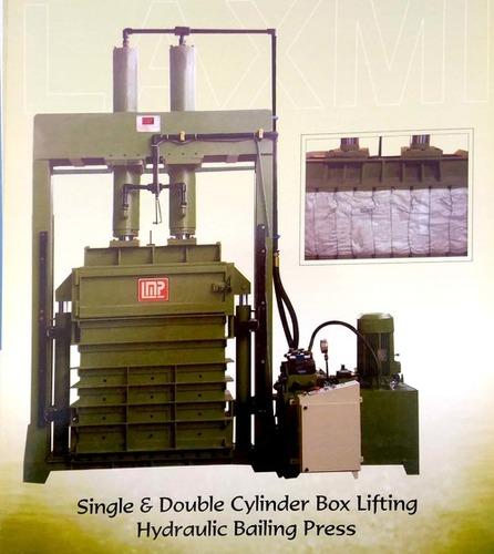 Cylinder Box Lifting Hydraulic Baling Press