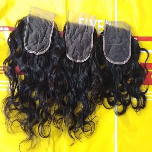 Raw Curly Hair Closure