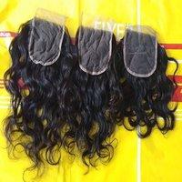 100% human hair closure Jerry curly 8A 4*4 Raw Curly Hair Closure