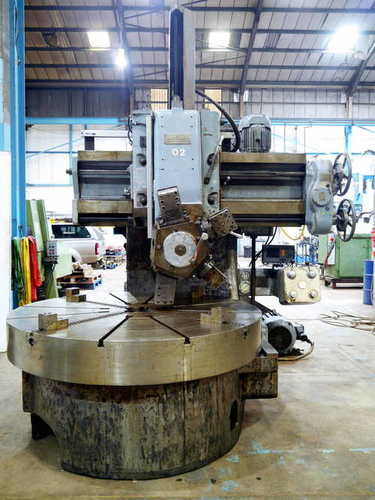 WEBSTER BENNETT 72 INCH VERTICAL TURRET LATHE