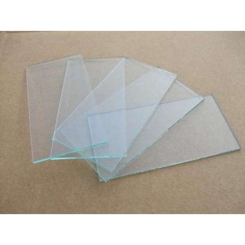 White Welding Glass