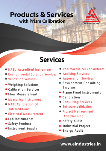 NABL Accredited Linear Instrument Calibration Services