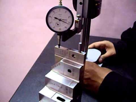 Dial Indicator Calibration