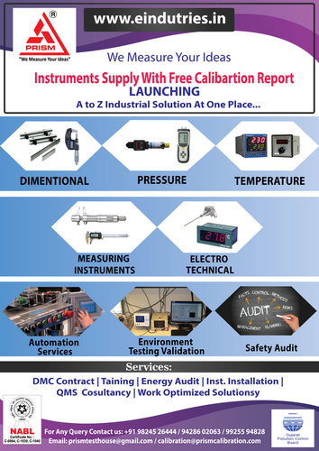 NABL Electrotechnical Instruments Calibration Services