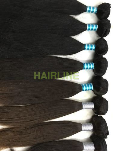 Machine Wefted Hair