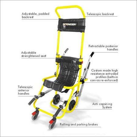 Pro Skid-e Evacuation And Transportation Chair