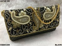 Embroided Clutch
