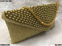 Beaded Work Clutch