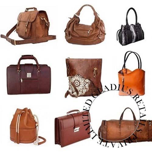 Ladies Leather Fancy Bags