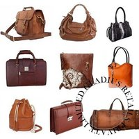 Ladies Leather Fancy Bags