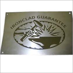 Steel Laser Engraving Service