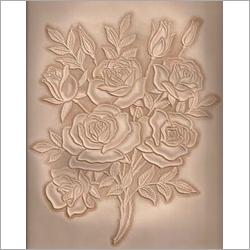Floral Print Laser Engraving Service