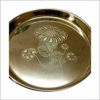 Customized Design Thali Laser Marking Service