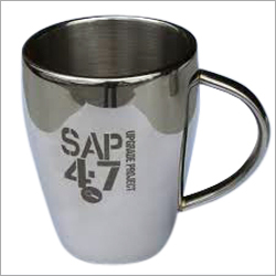 Steel Coffee Mug Laser Marking Service