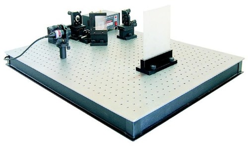 Michelson Interferometer (Bread Board Model) - Coherent Length of the Laser