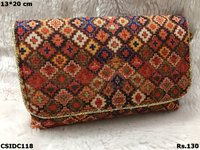 Tussar Silk Beautiful Clutch