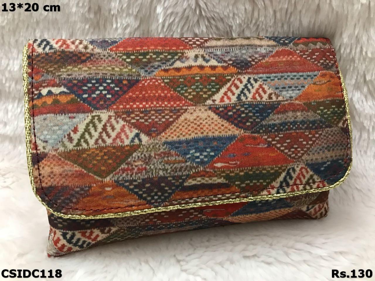 Tussar Silk Beautiful Clutch