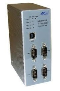 4 Port RS232 To USB Interface Converter