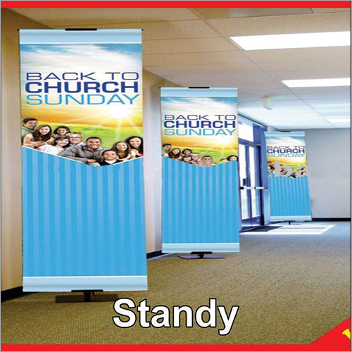 Roll Up Standee Flex Banner