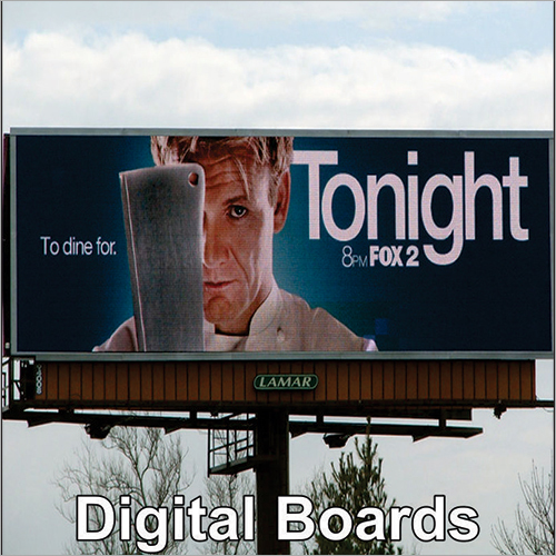 Digital Roadside Signage Board