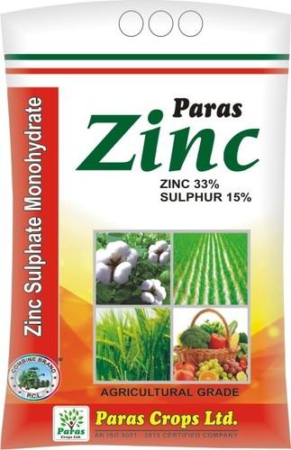 Zinc Sulphate Monohydrate Zinc 33% & Sulphur 15%