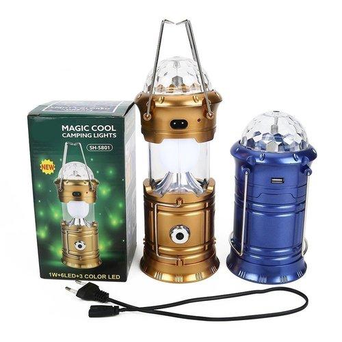 Solar Power Emergency Light Bulb 6 LED