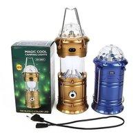 6 LED Solar Power Emergency Light Bulb