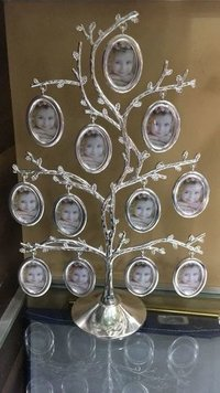 Silver Plated Photo Tree