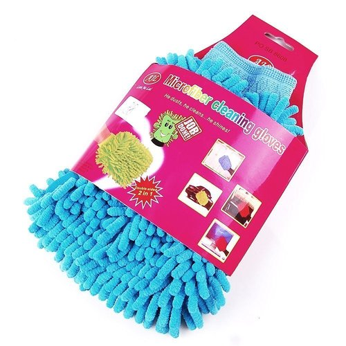 Multi-Purpose Microfiber Wash Washing Gloves